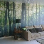Digitally printed wallpaper